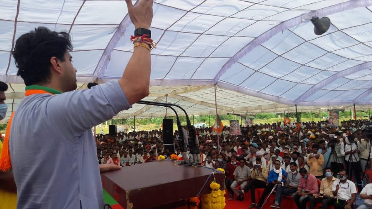 Farmer dies at Scindia rally: How did Jeevan Singh pass away?