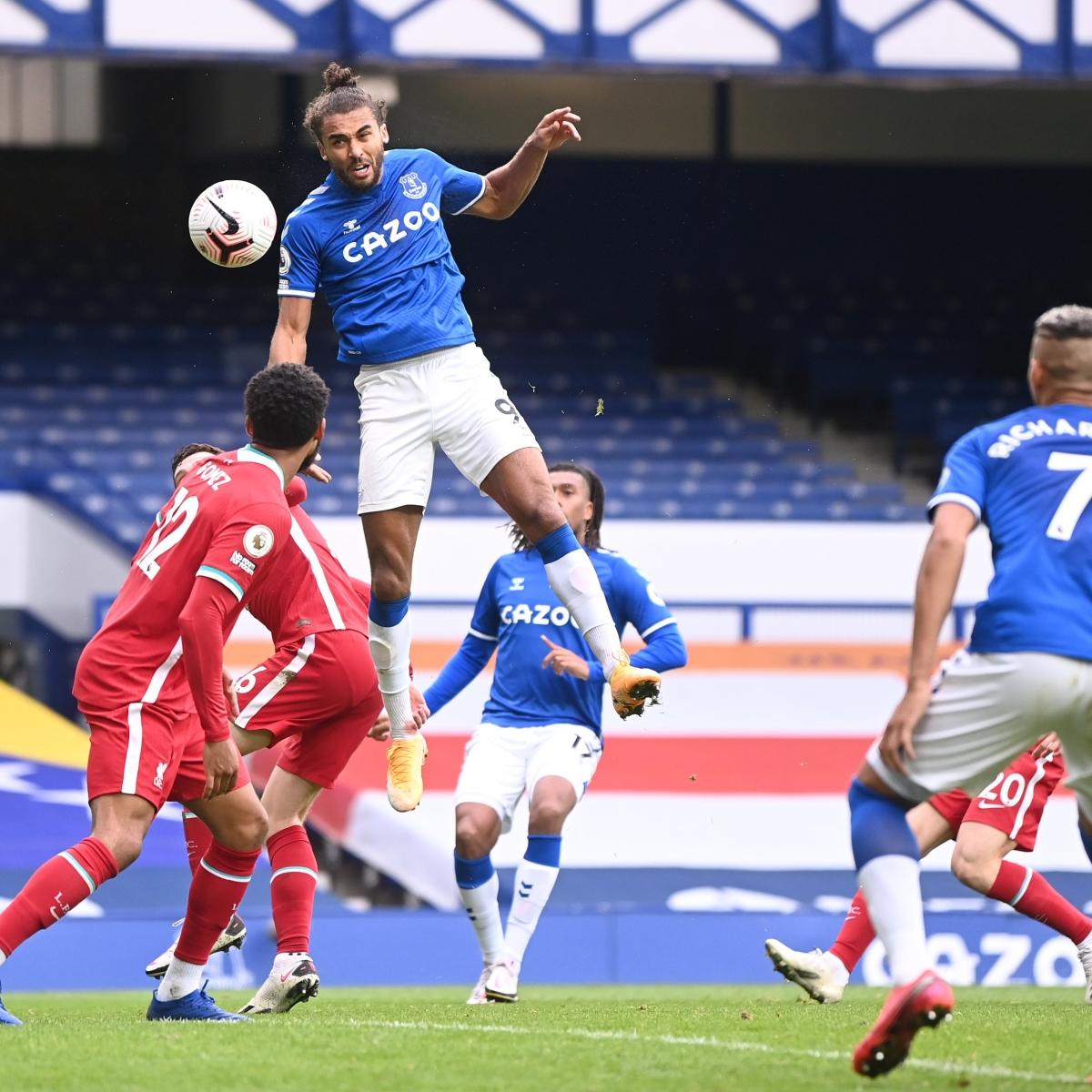 Premier League: Calvert-Lewin earns Everton 2-2 draw with Liverpool