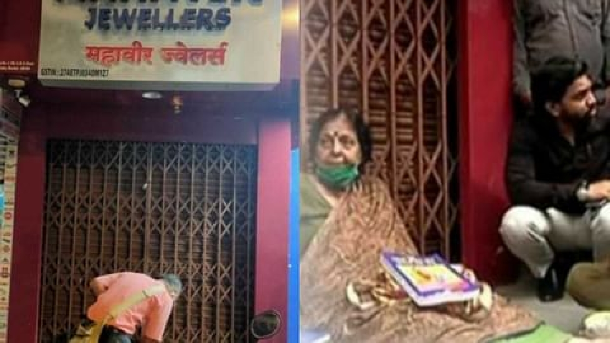 Writer stages protest as jeweller refuses to speak in Marathi