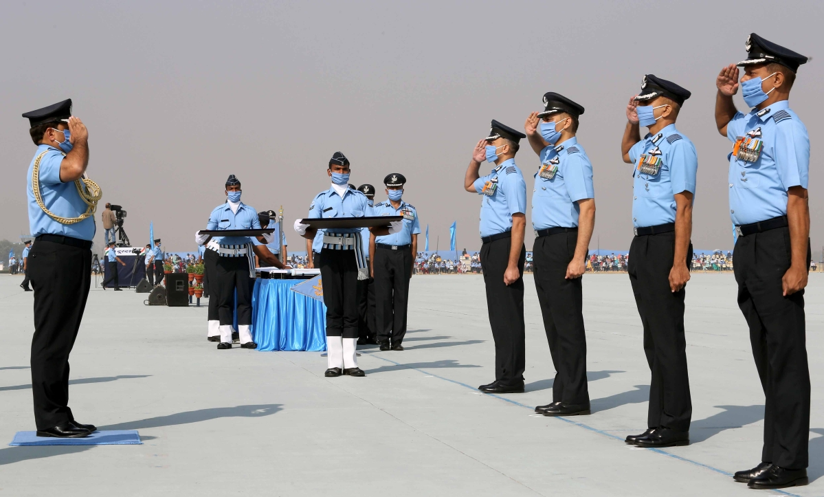 Indian Air Force Day Parade-2020