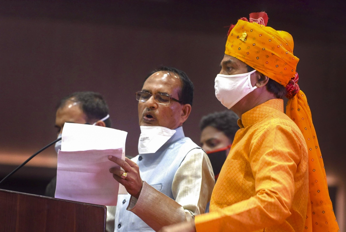 MP Bypolls: Ahead of elections, Chouhan announces memorial of Rani Padmavati