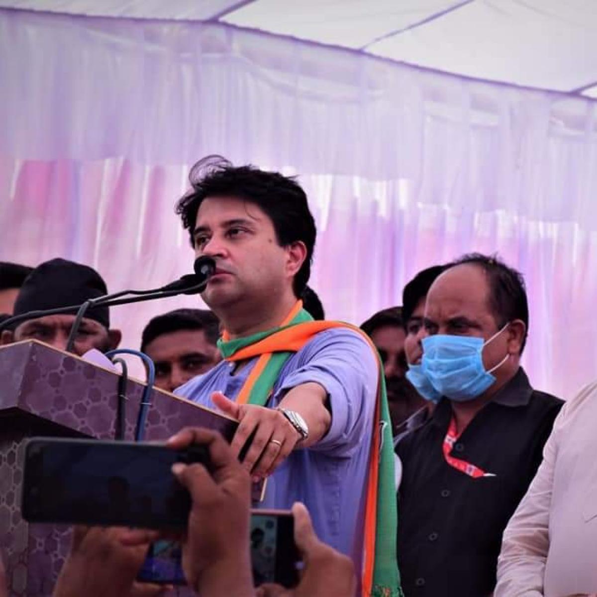 Madhya Pradesh: Jyotiraditya Scindia aides blame BJP leaders for their defeat in by-elections