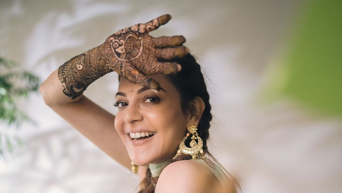 Kajgautkitched: Kajal Aggarwal shares glimpse of her pre-wedding festivities, dances her heart out at Haldi ceremony
