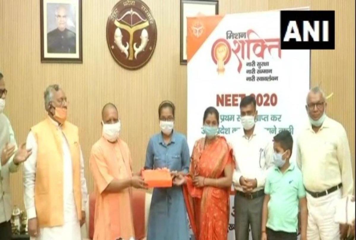 UP CM Yogi Adityanath demands Akanksha Singh be named NEET 2020 topper along with Soyeb Aftab