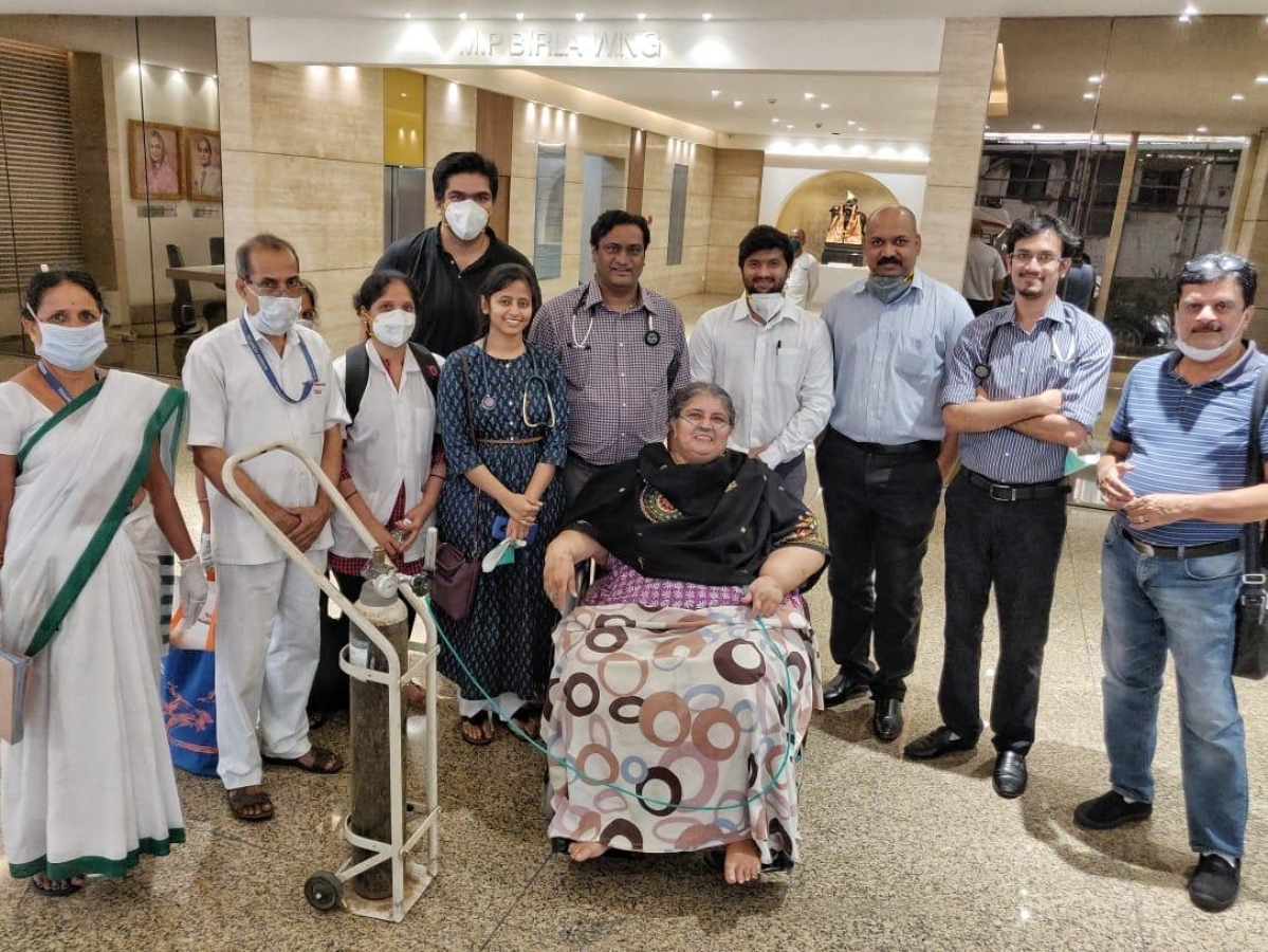 62-year-old breast cancer patient beats COVID-19