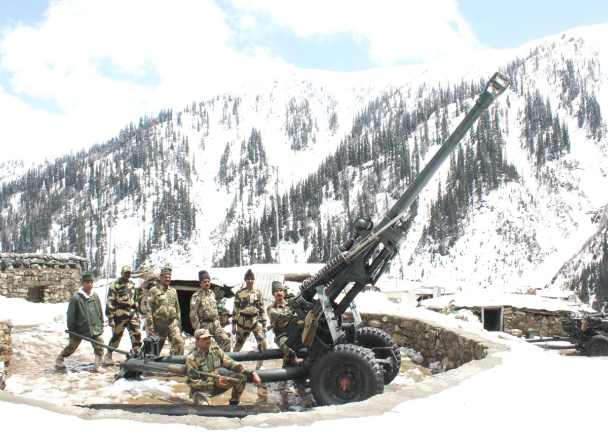 Border Security Force artillery enters 50th year of raising