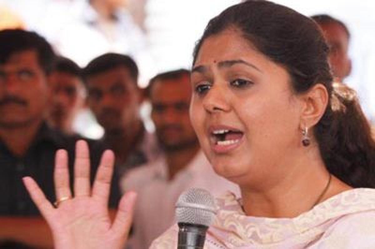 Pankaja Munde dismisses rumours of quitting BJP