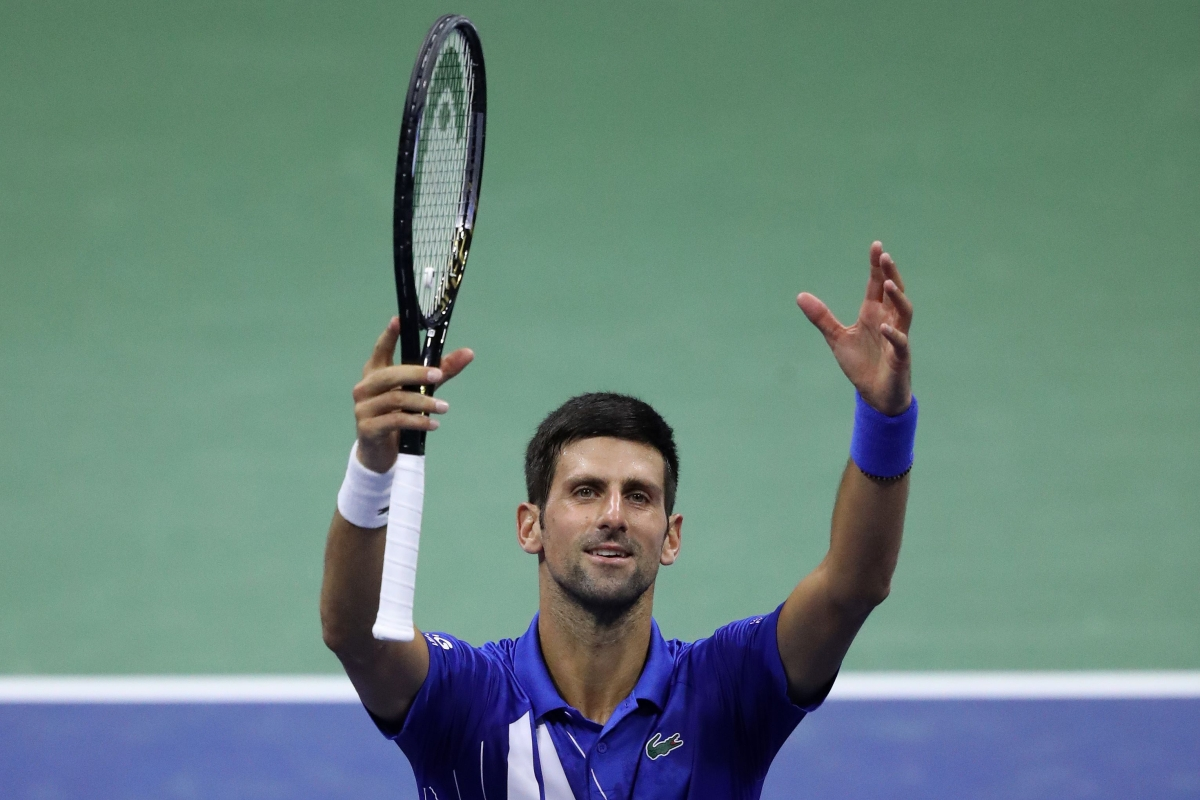 Top seed and 2016 champion Novak Djokovic faced his toughest test of the tournament so far