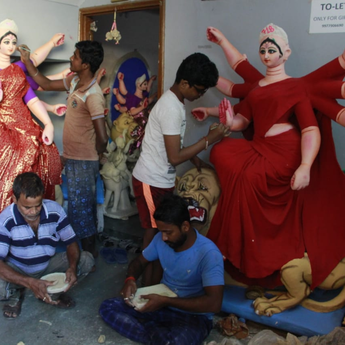 Corona Bite: Indians 'Idle' during Navratri
