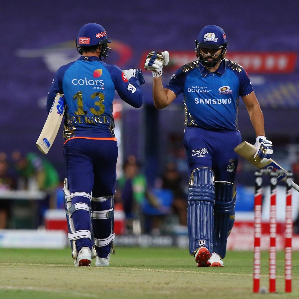 IPL 2020: Mumbai Indians extend win streak with 8-wicket victory over Kolkata Knight Riders