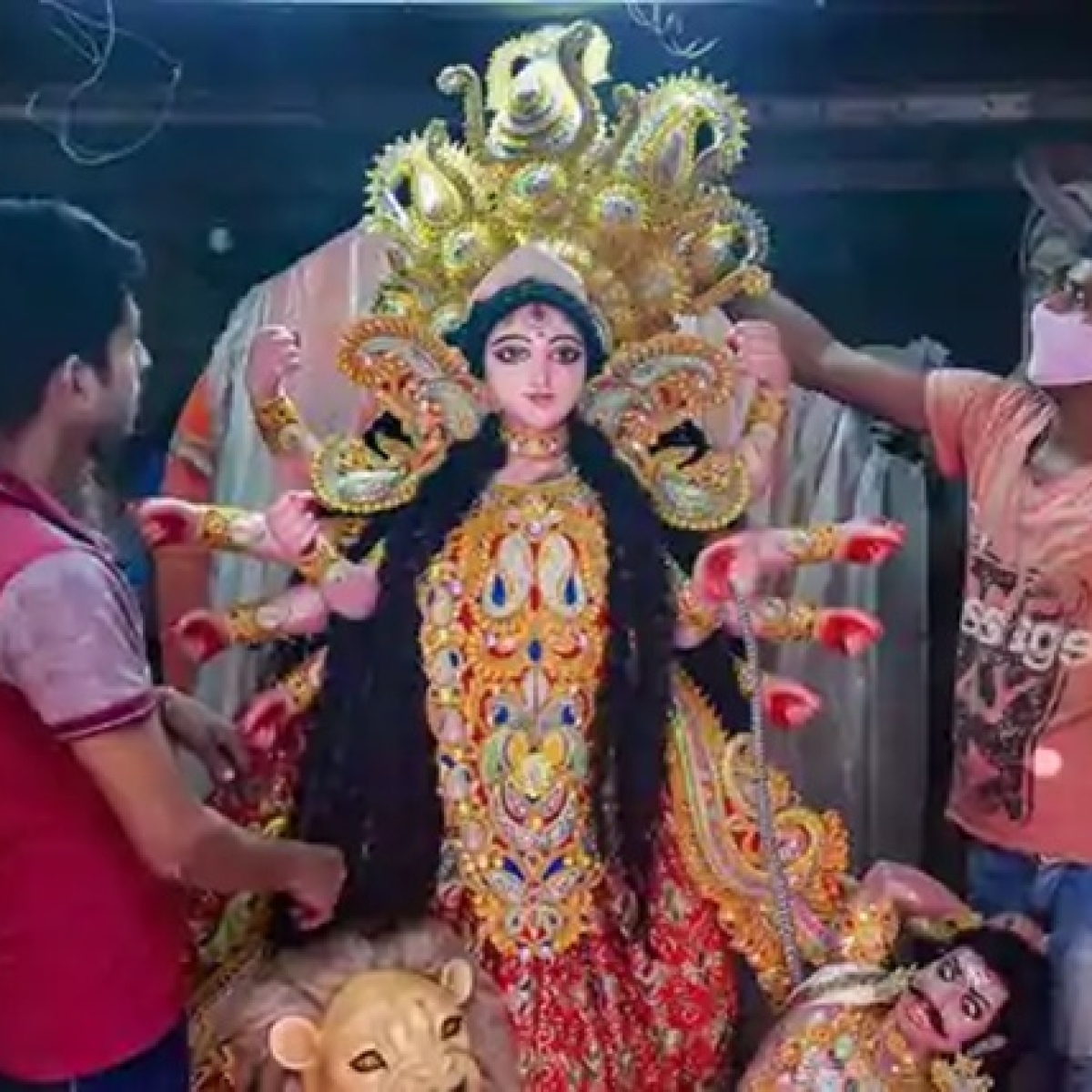 No Durga Puja celebrations at CR Park, other areas in south Delhi amid COVID-19 pandemic