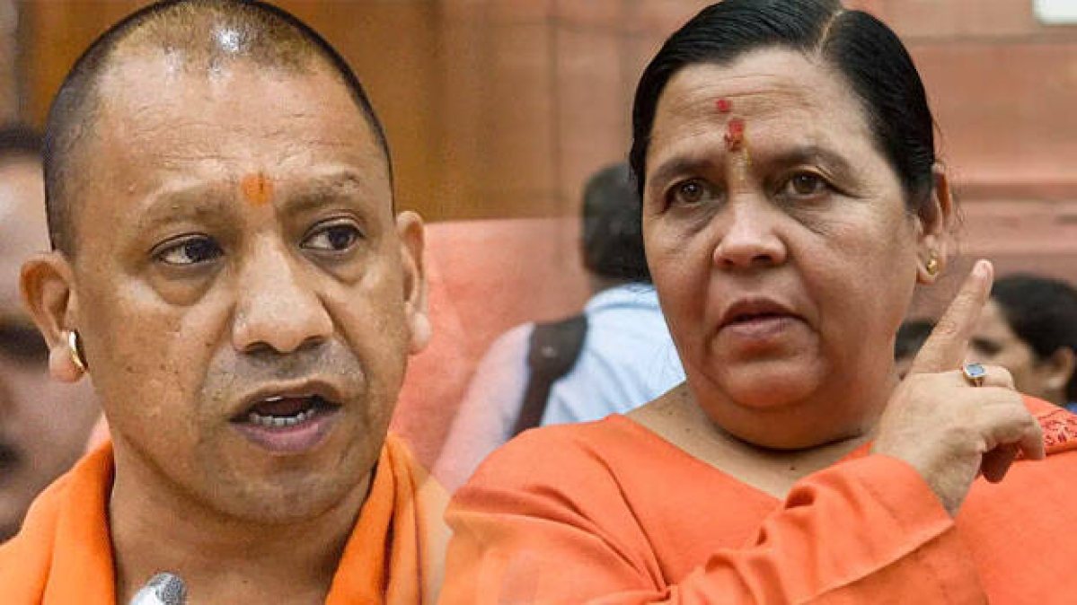 Hathras Rape Case: Police's suspicious act tarnished your government & BJP's image, Uma Bharti to Yogi Adityath