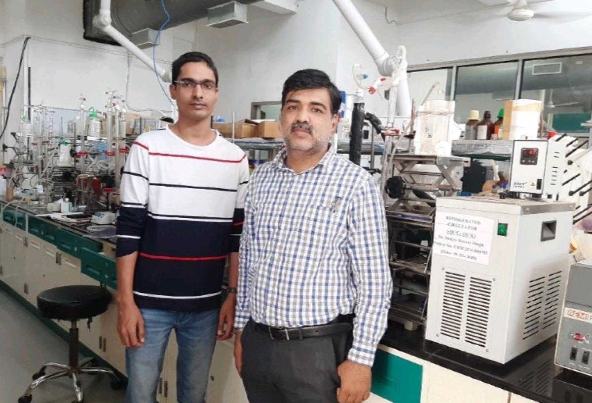 The team comprising of Mahendra K Awasthi and Rohit K Rai.
