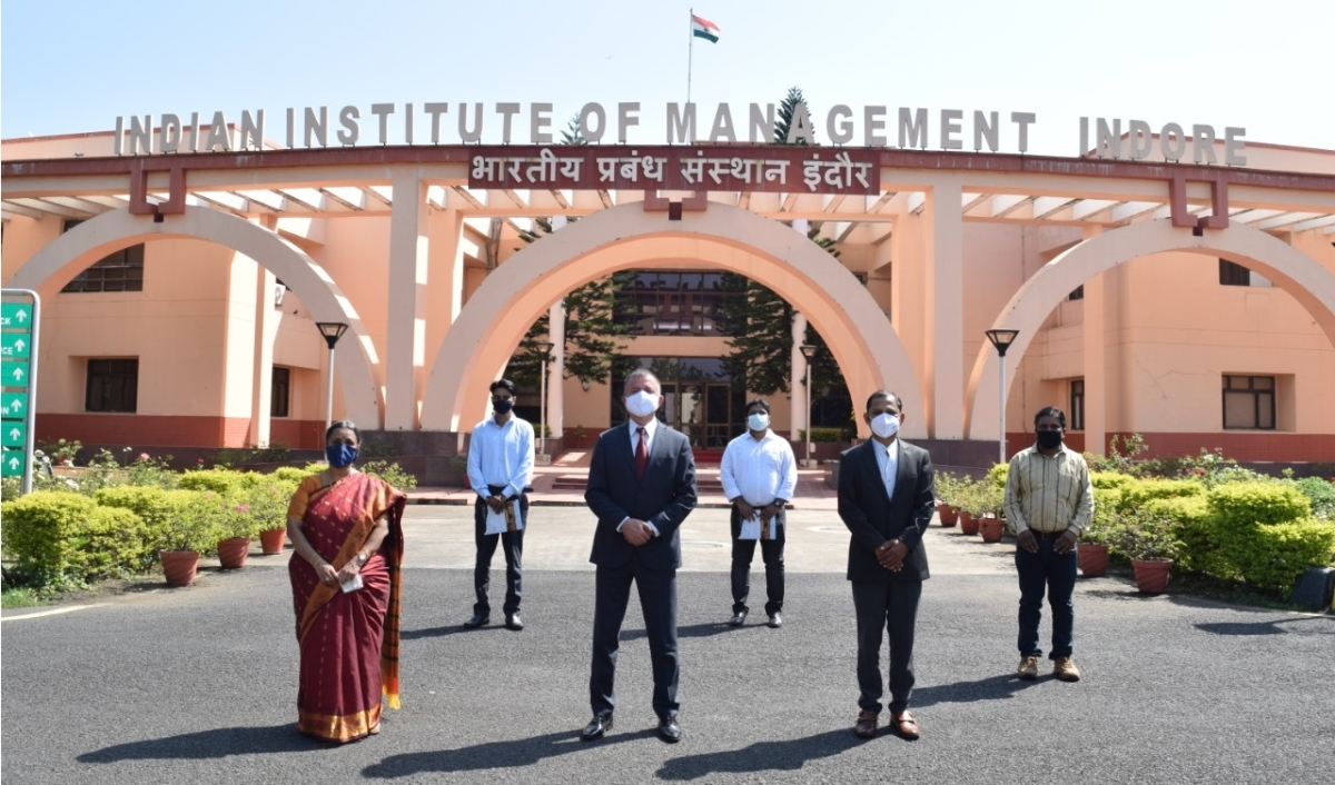 Indore: With all COVID norms in place, IIM Indore celebrates 24th Foundation Day