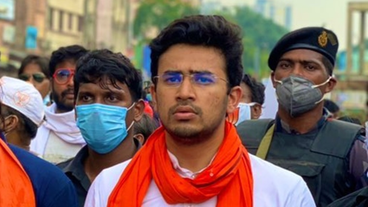 Tejasvi Surya tags Aug 12 report on Nabanna sanitisation, says BYJM has won this battle