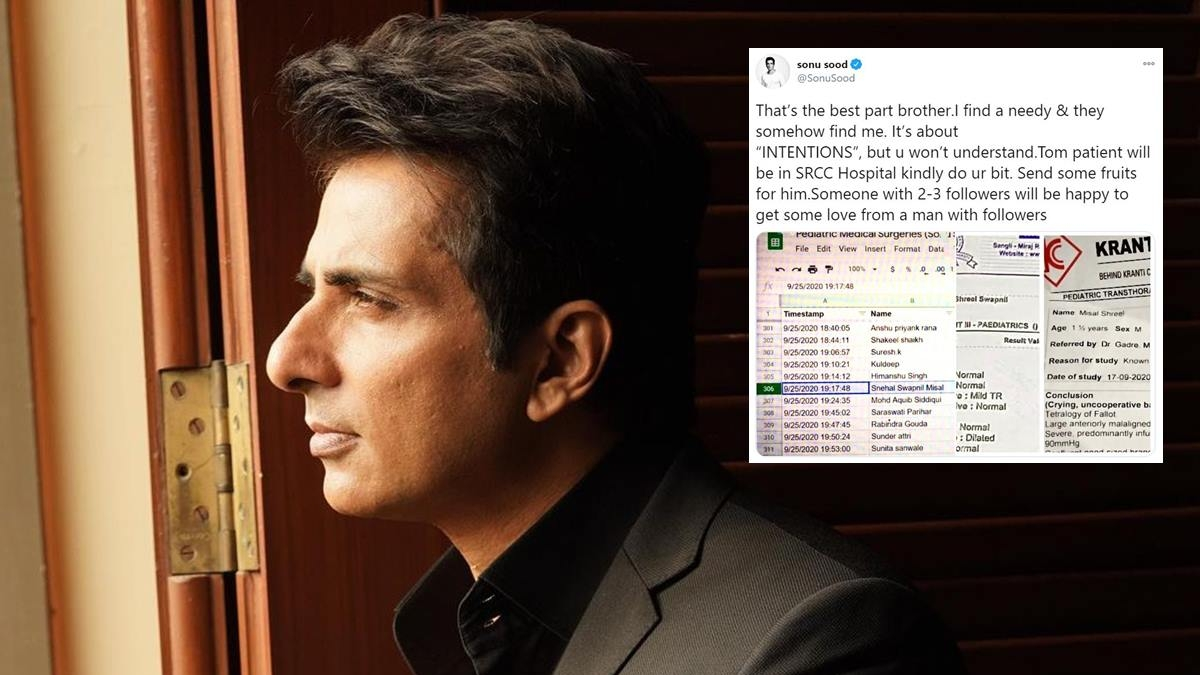 'This is how PR team works': Why Sonu Sood is being called out over an excel sheet