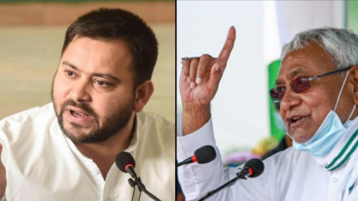 Tejashwi Yadav VS Nitish Kumar