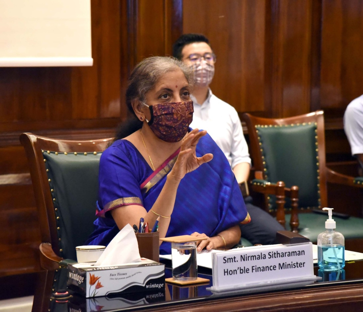 'Haven't closed option for another stimulus': Sitharaman on economic situation amid pandemic