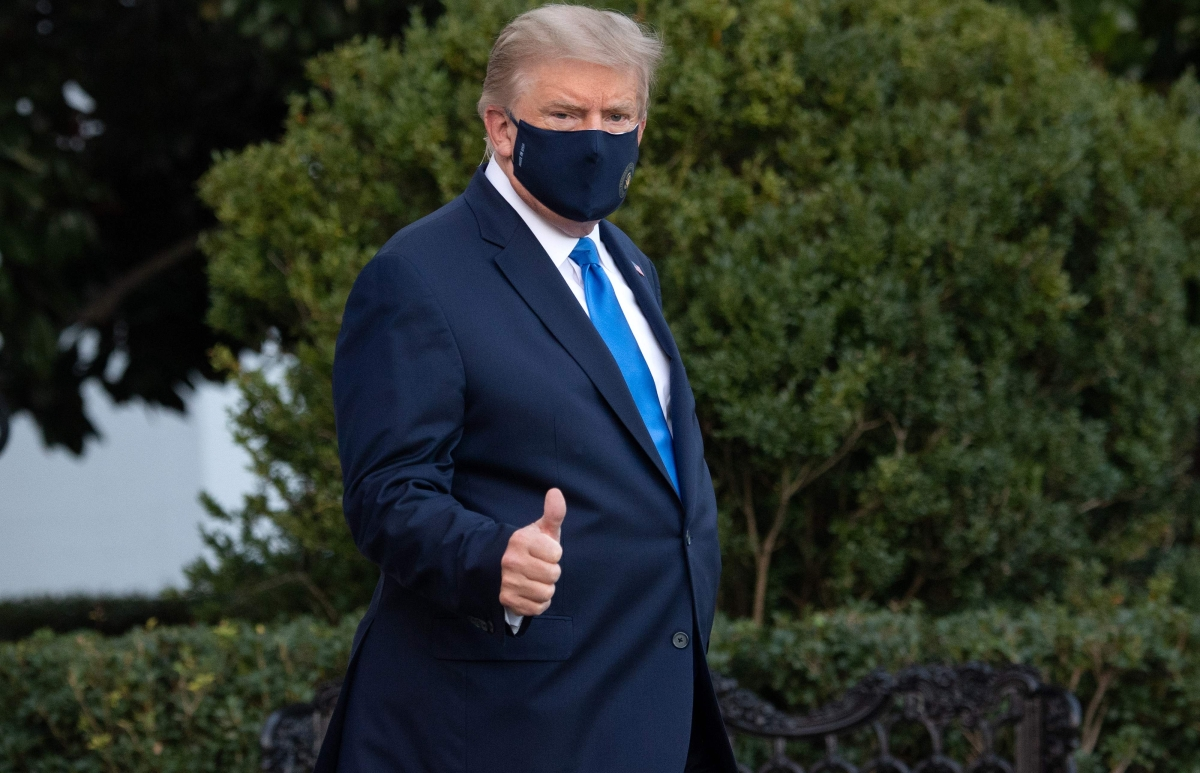 Trump's virus hospitalization rocks final stage of campaign