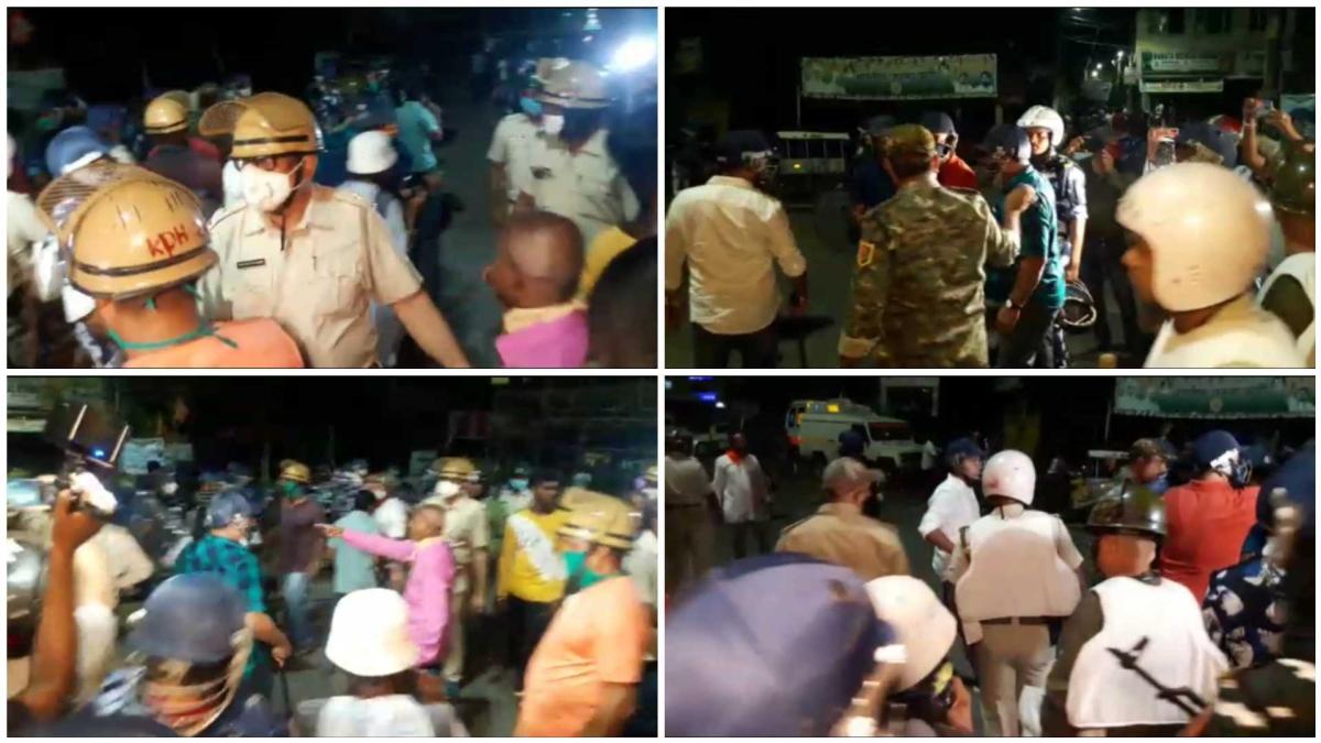 West Bengal: Protests erupt in Barrackpore after murder of BJP leader