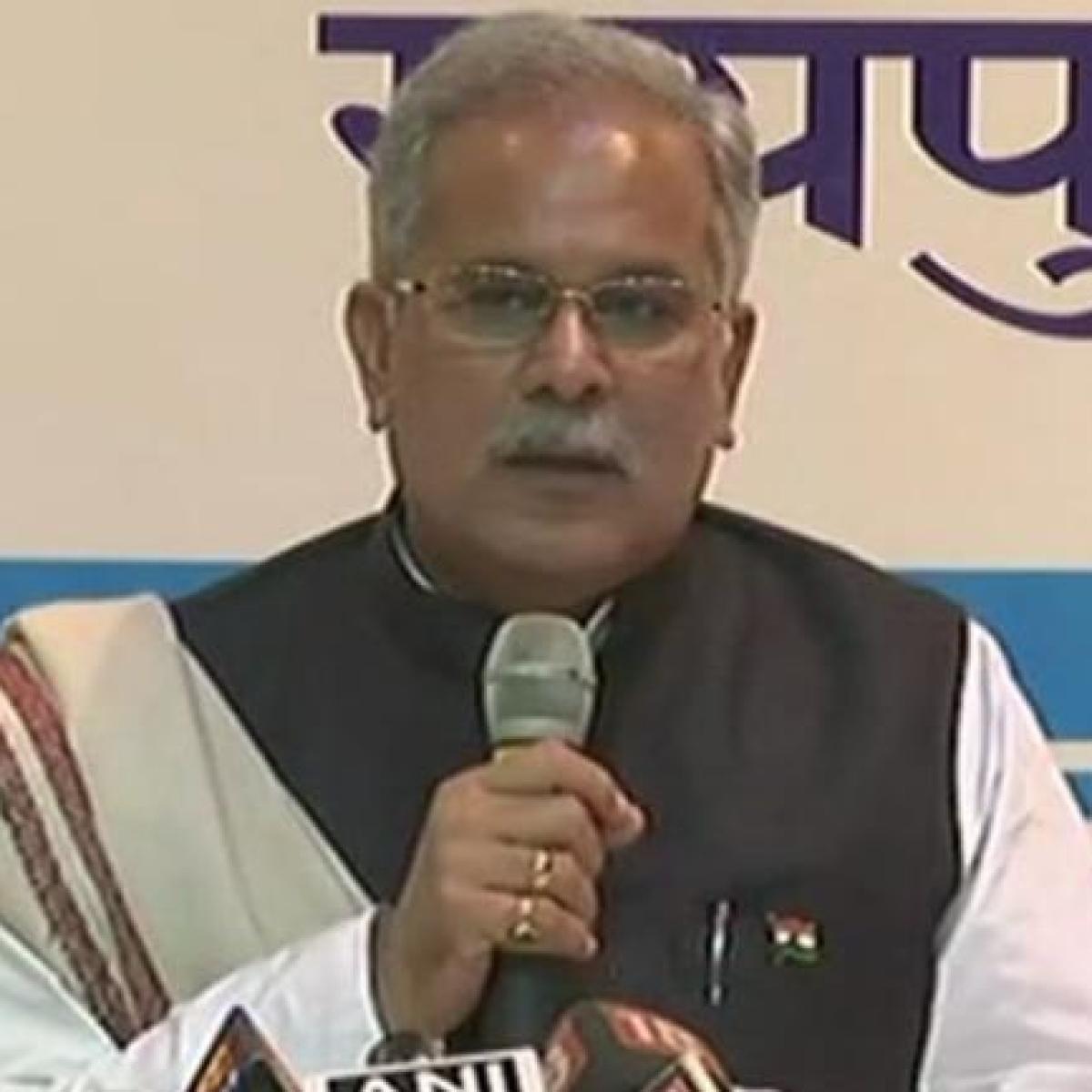 Madhya Pradesh Bypolls: Chhattisgarh CM Bhupesh Baghel flays BJP over cancellation of public meetings