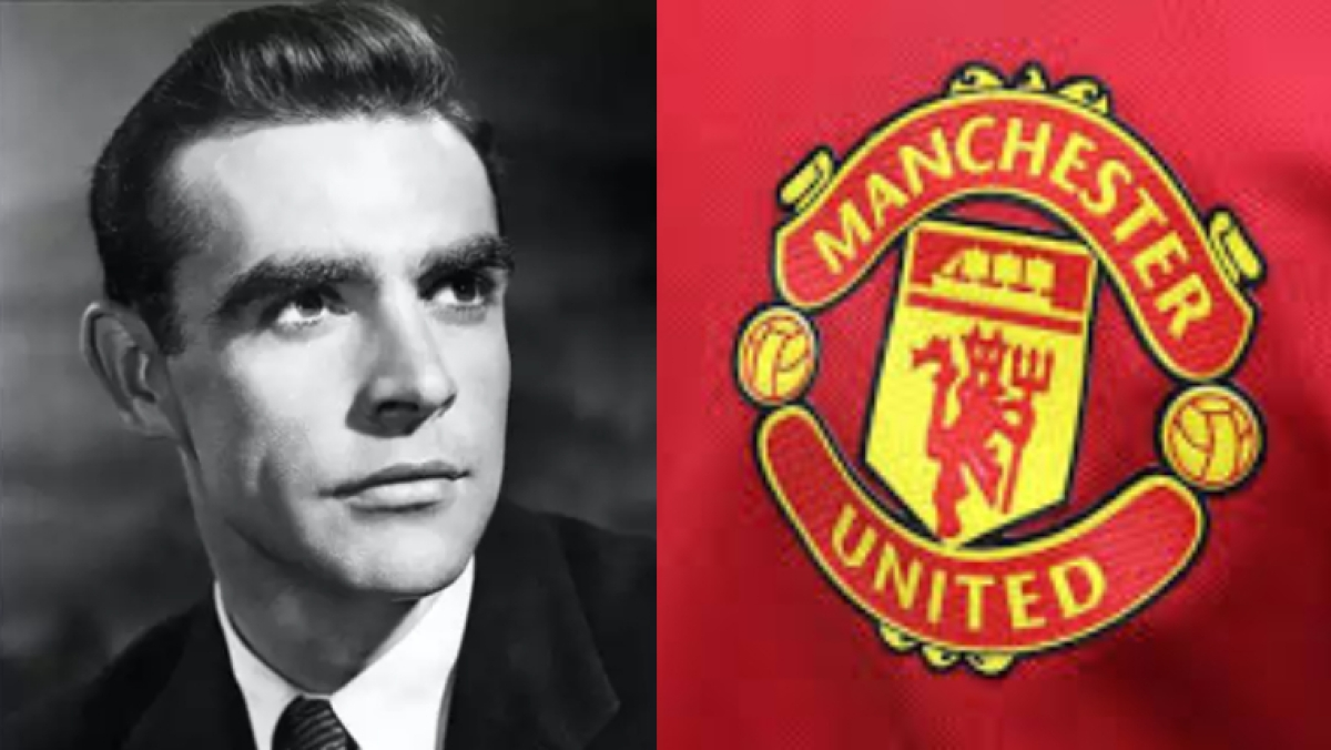 When Sean Connery almost became a Manchester United player