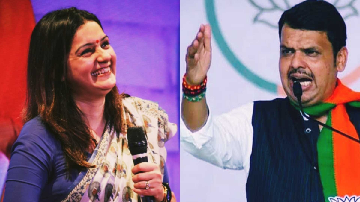'Mi Punha Yein': Priyanka Chaturvedi takes jibe at Devendra Fadnavis over  early morning swearing-in ceremony