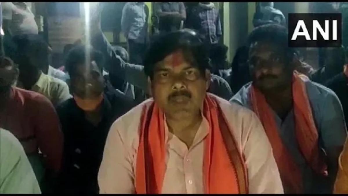 BJP MLA Mithilesh Tiwari attacked in Bihar's Gopalganj, blames supporters of Independent candidate Manjeet Singh