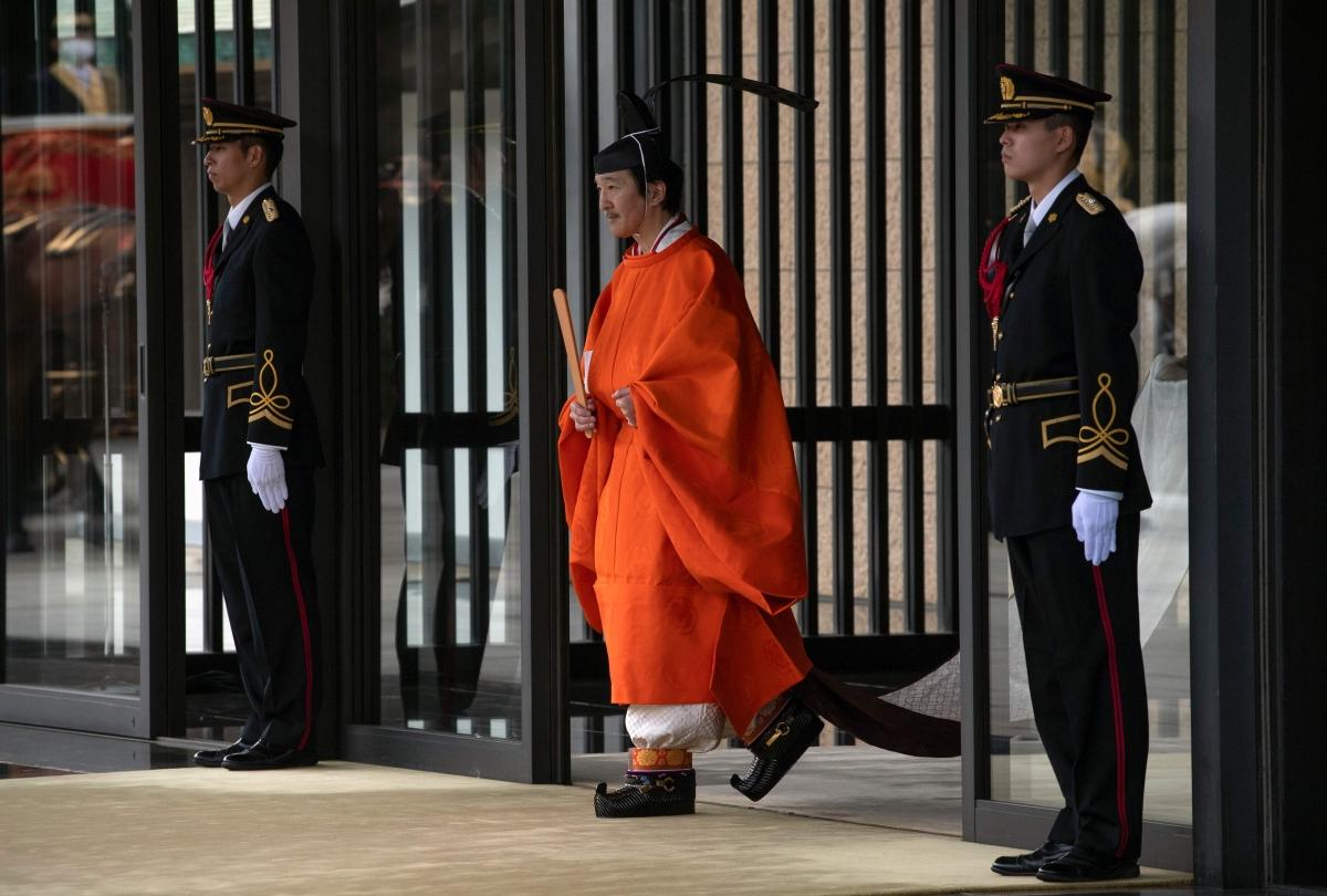 Japan formally declares Prince Akishino heir to the throne
