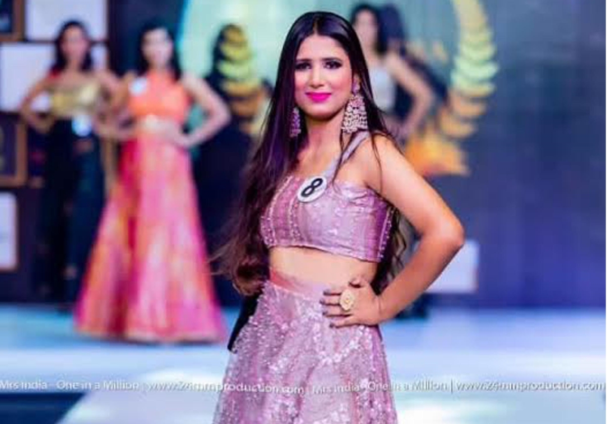 Madhya Pradesh: Mandsaur's Madhumita makes into top 5 of Mrs India competition