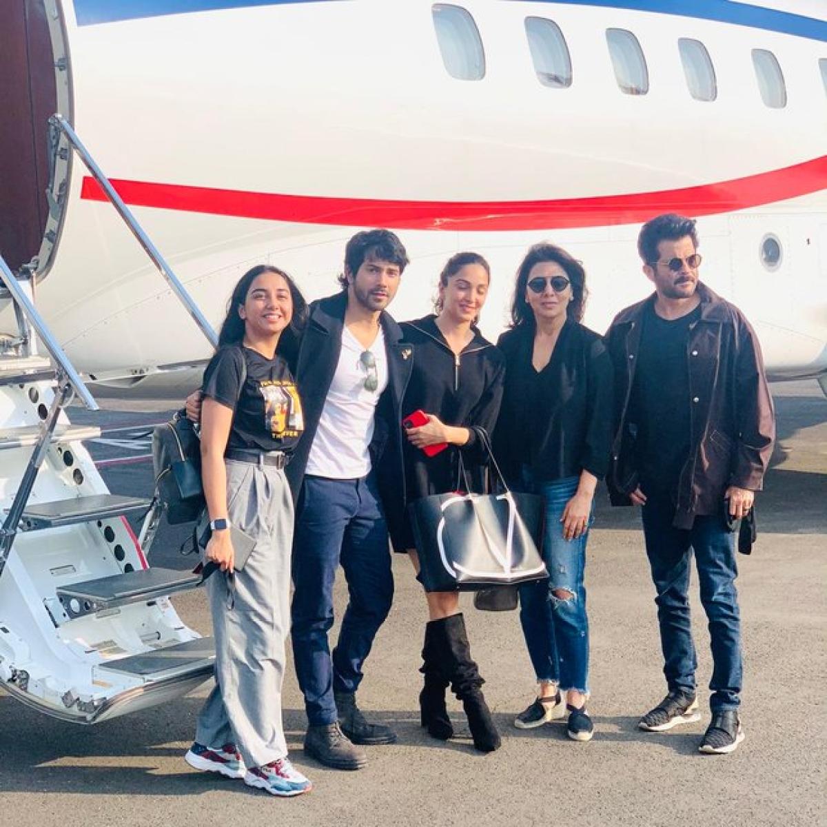 'Jug Jugg Jeeyo' starts shooting, team celebrates Neetu Kapoor's return to films