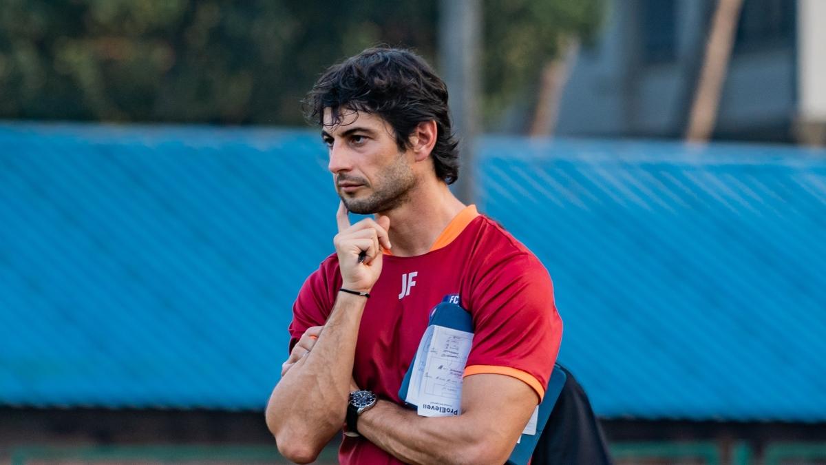 FC Goa coach Juan Ferranda