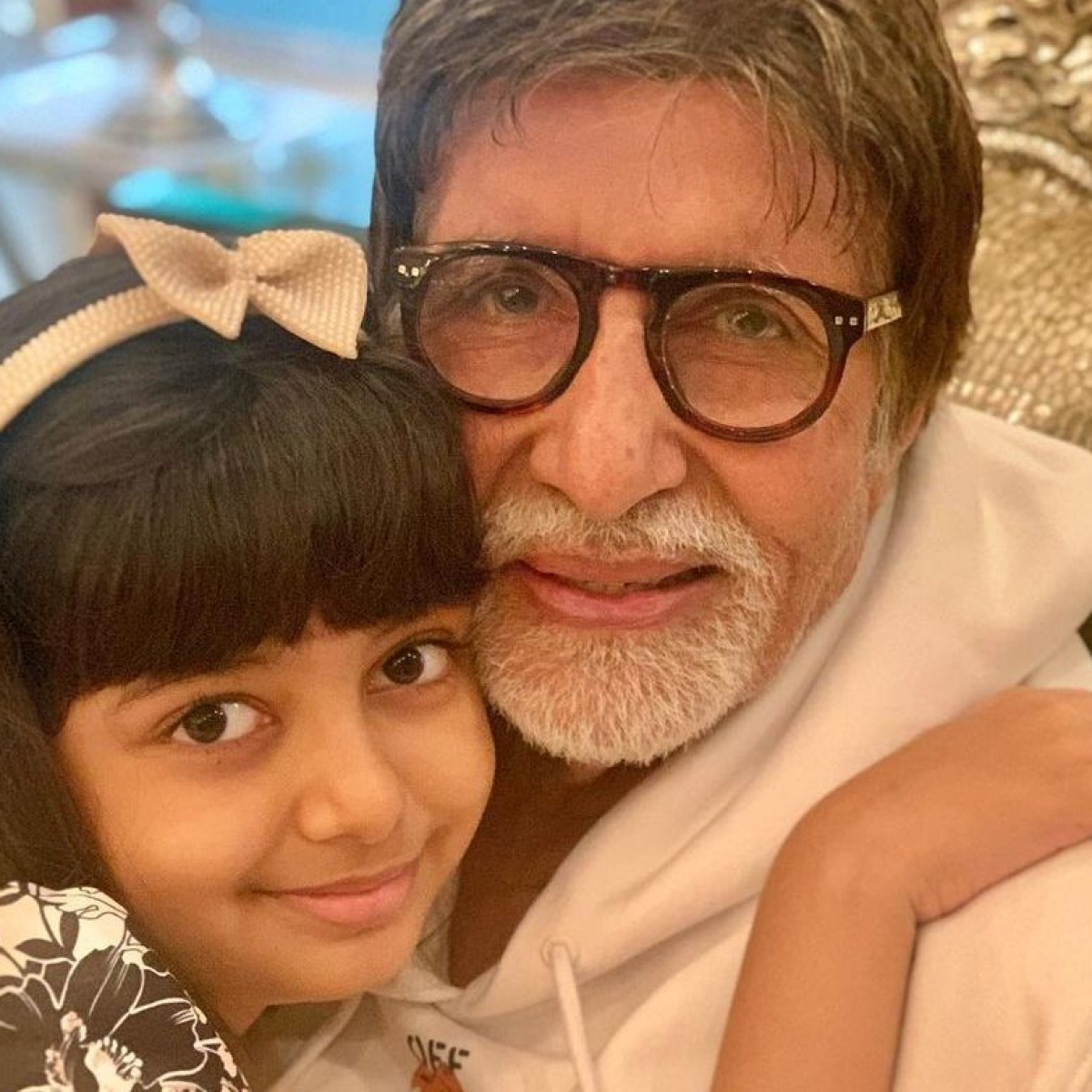 As Aaradhya turns 9, grandfather Amitabh Bachchan shares nine pictures from her growing years
