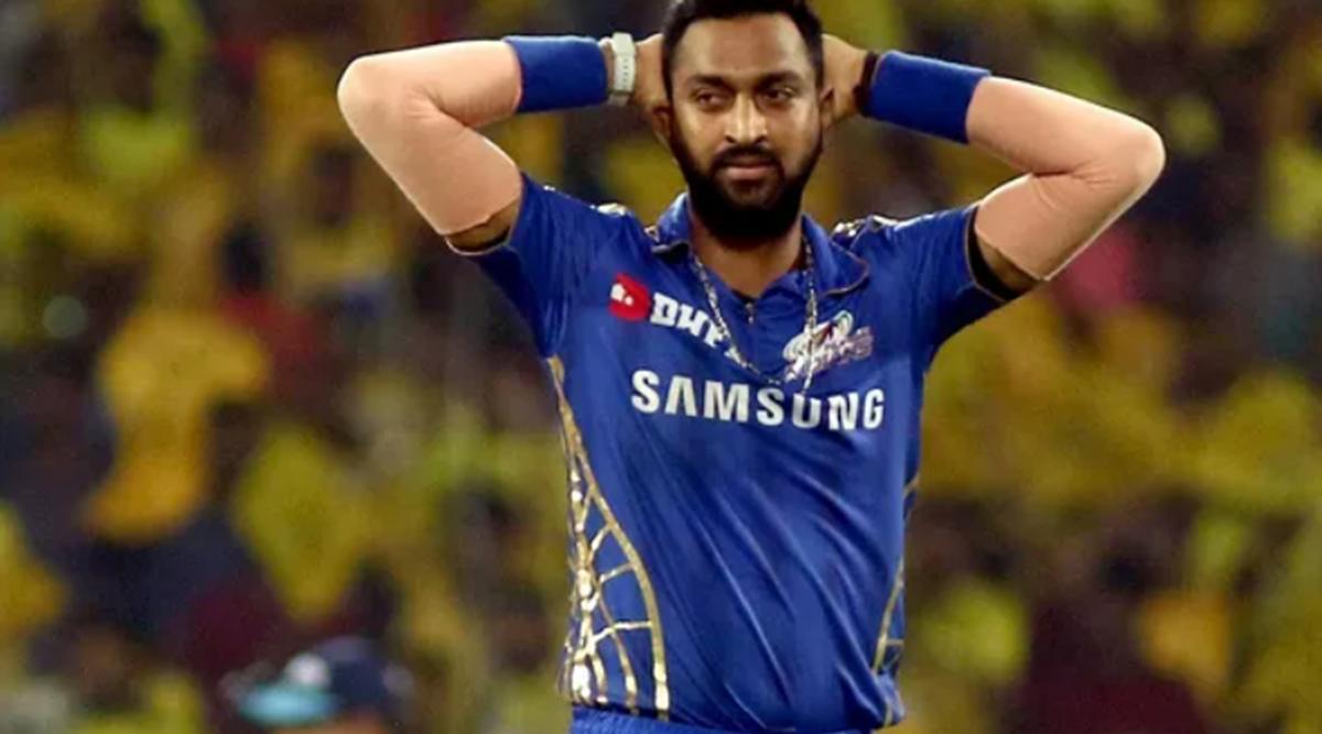 MI player Krunal Pandya detained at Mumbai airport