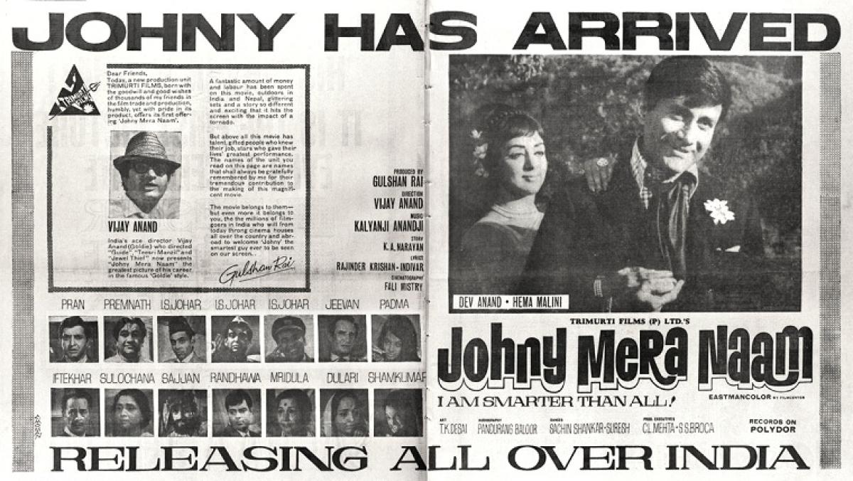 Untold facts: Celebrating 50 years of Johny Mera Naam