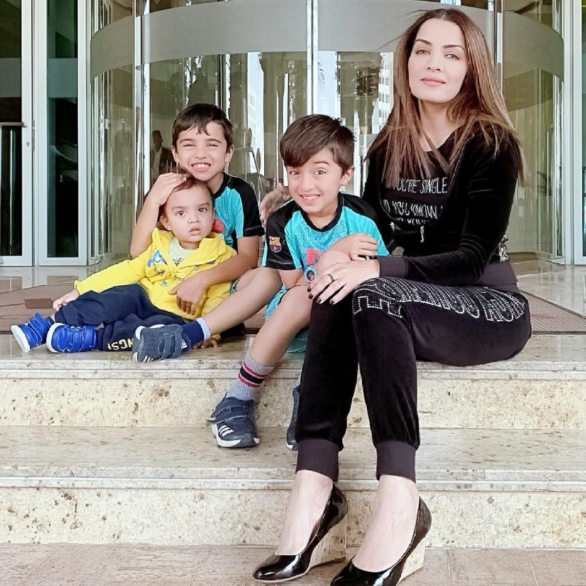 On World Prematurity Day, Celina Jaitley pens down emotional note about losing her baby boy Shamsher