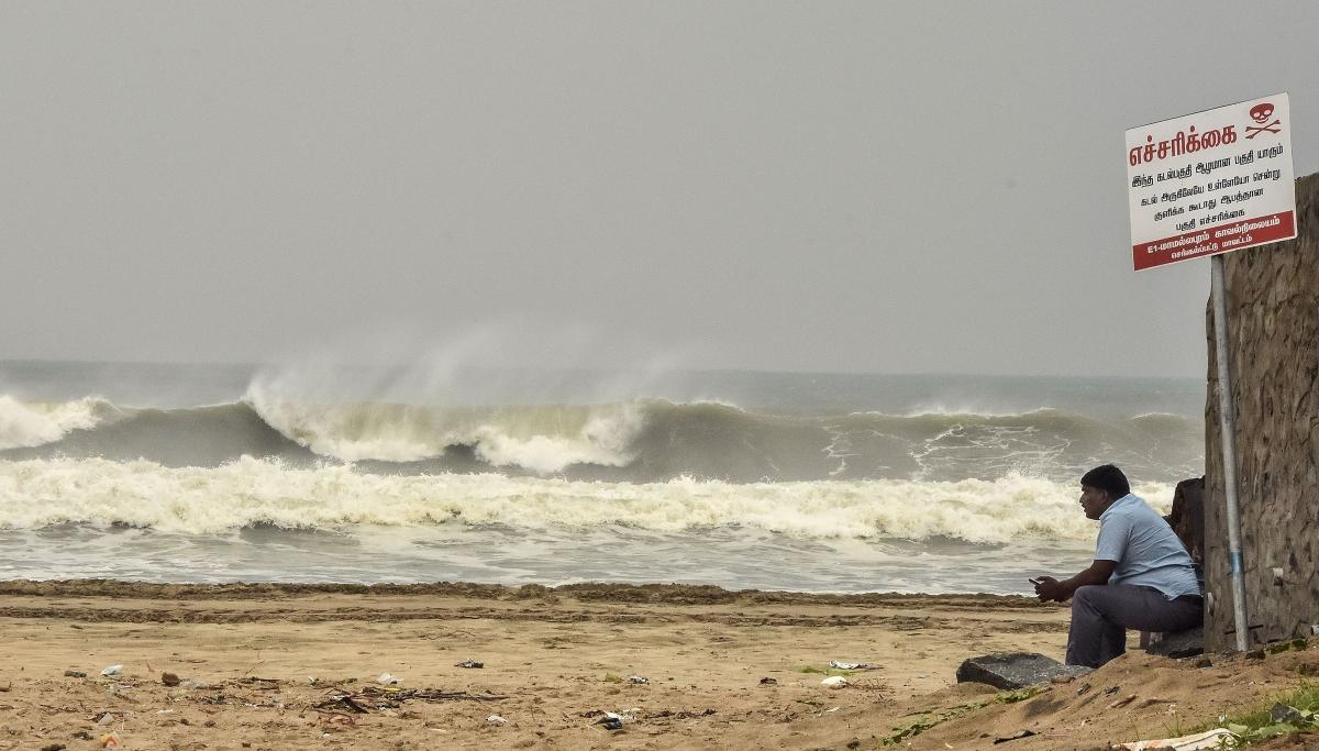 Tamil Nadu govt declares public holiday tomorrow ahead of Cyclone Nivar