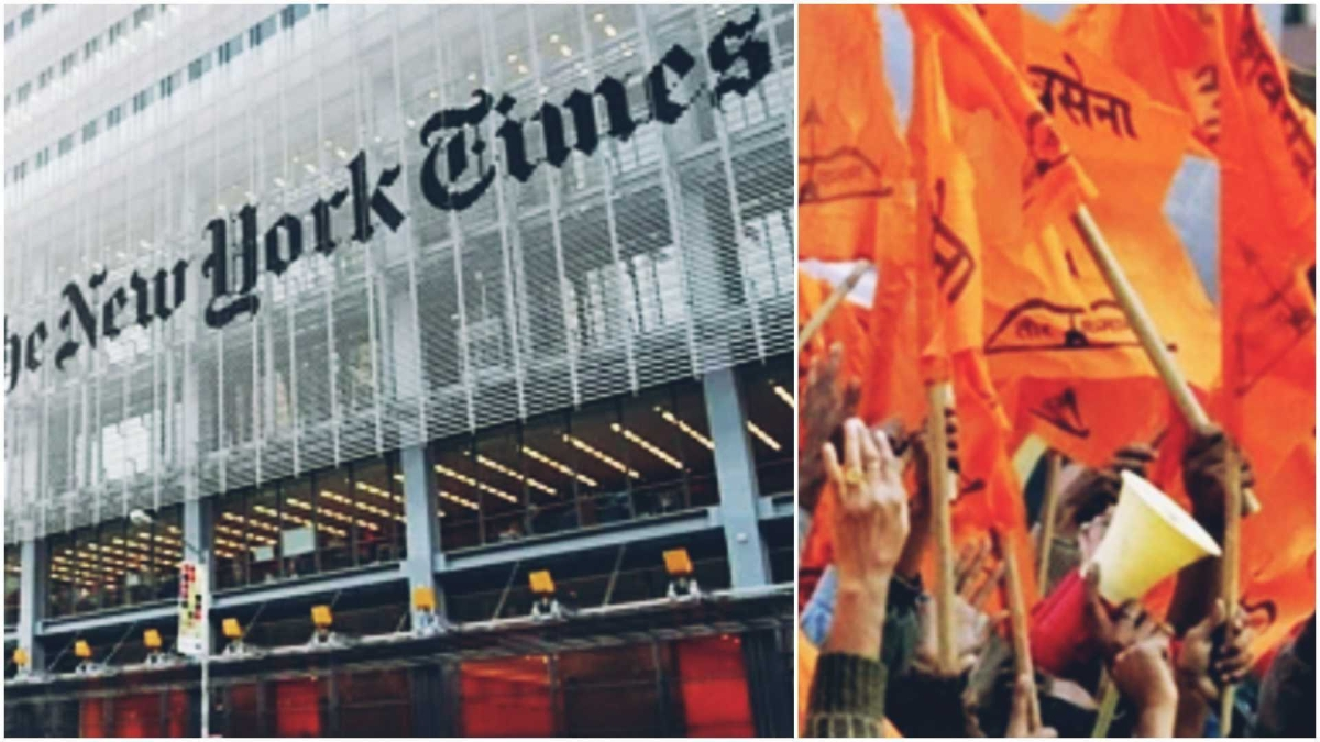 After receiving flak for calling Shiv Sena a 'progressive party', NYT deletes 'the incorrect tweet'