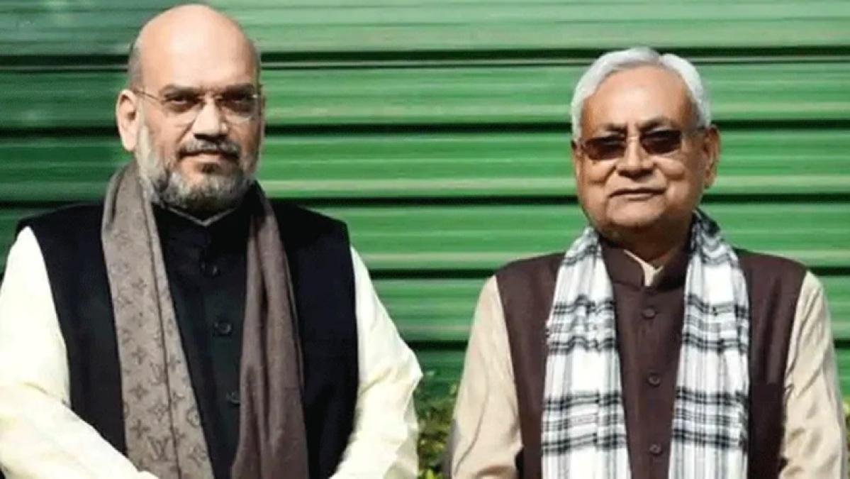 Amit Shah and Nitish Kumar