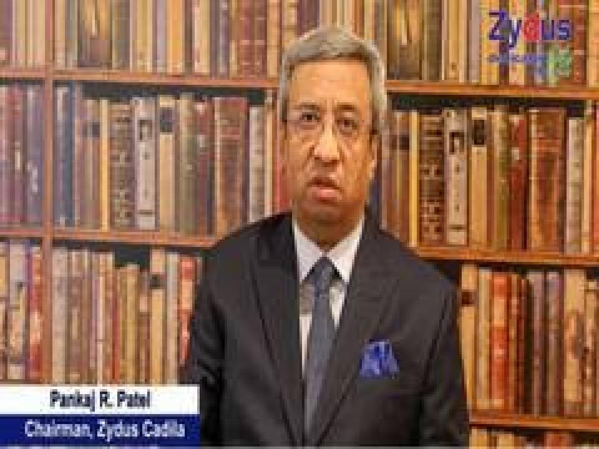 Zydus Cadila chairperson Pankaj K Patel