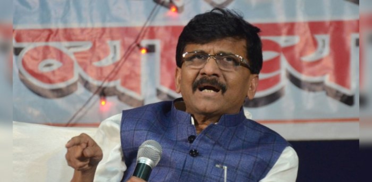 Shiv Sena MP Sanjay Raut slams BJP for demanding law against Love Jihad in Maharashtra