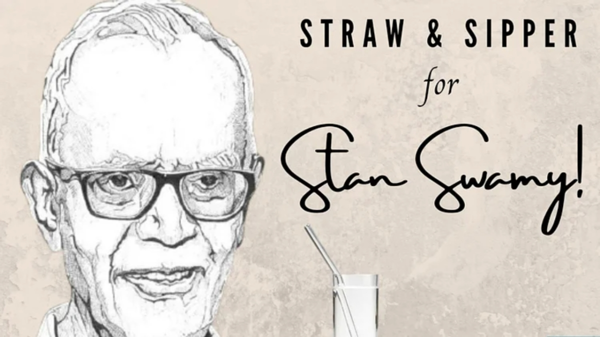 We are providing sipper, straw to Stan Swamy: Taloja Jail authorities