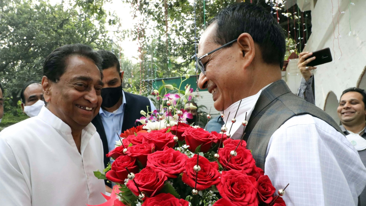 Kamal Nath meet Shivraj Singh Chouhan