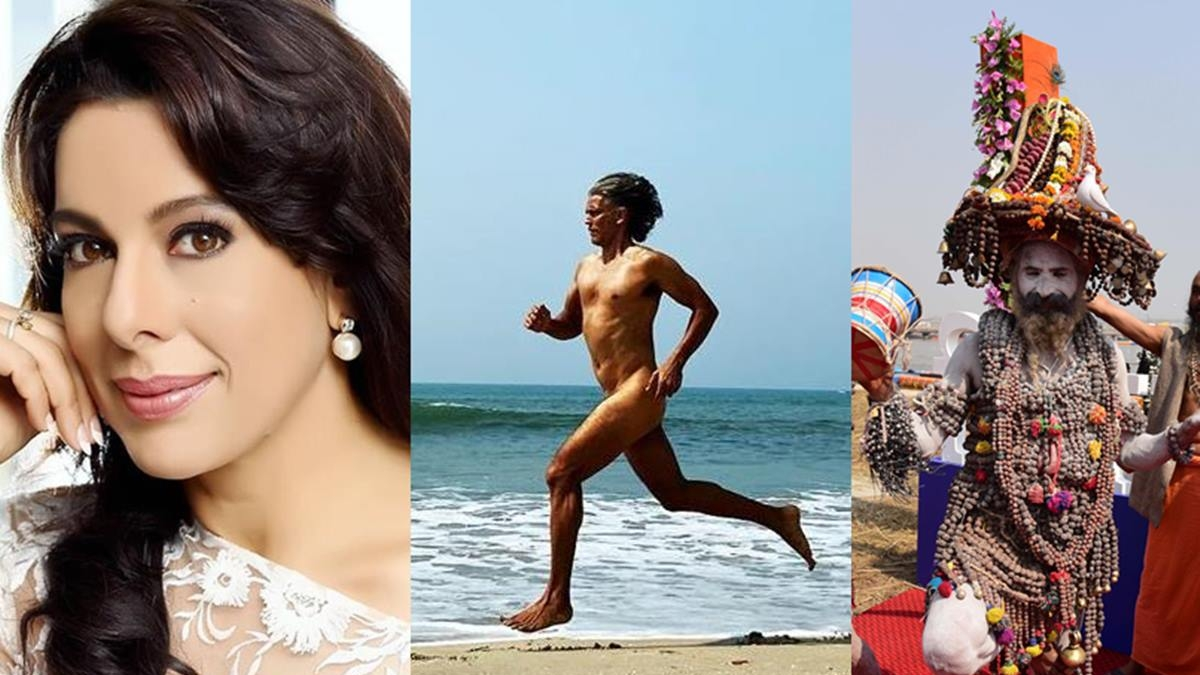Pooja Bedi receives flak for comparing Milind Soman's nude picture with Naga Babas