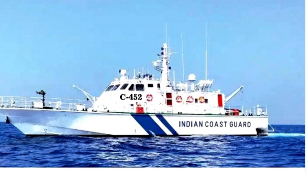 Indian Coast Guard commissions Ship C-452