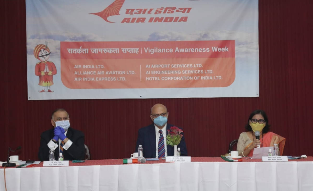 Air India organises seminar as part of Vigilance Awareness Week