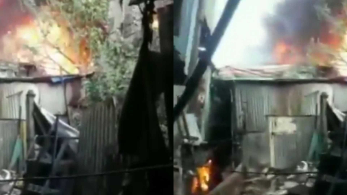 Fire breaks out at a godown in Mumbai's Kurla West; fire tenders at spot