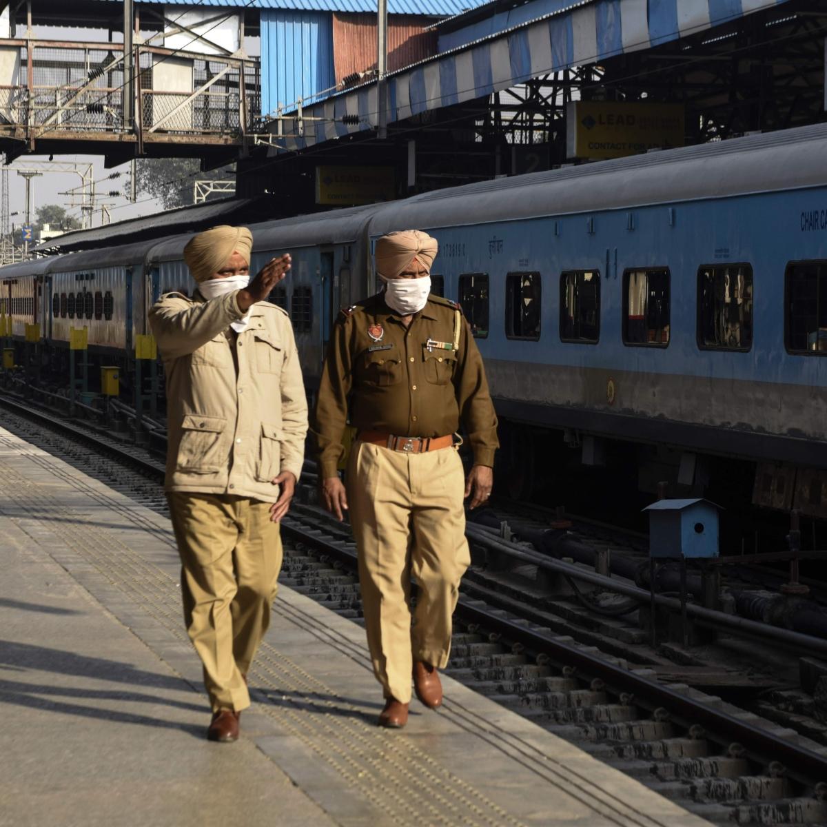 Railways restores 11 trains; Punjab farmers say will not allow passenger trains