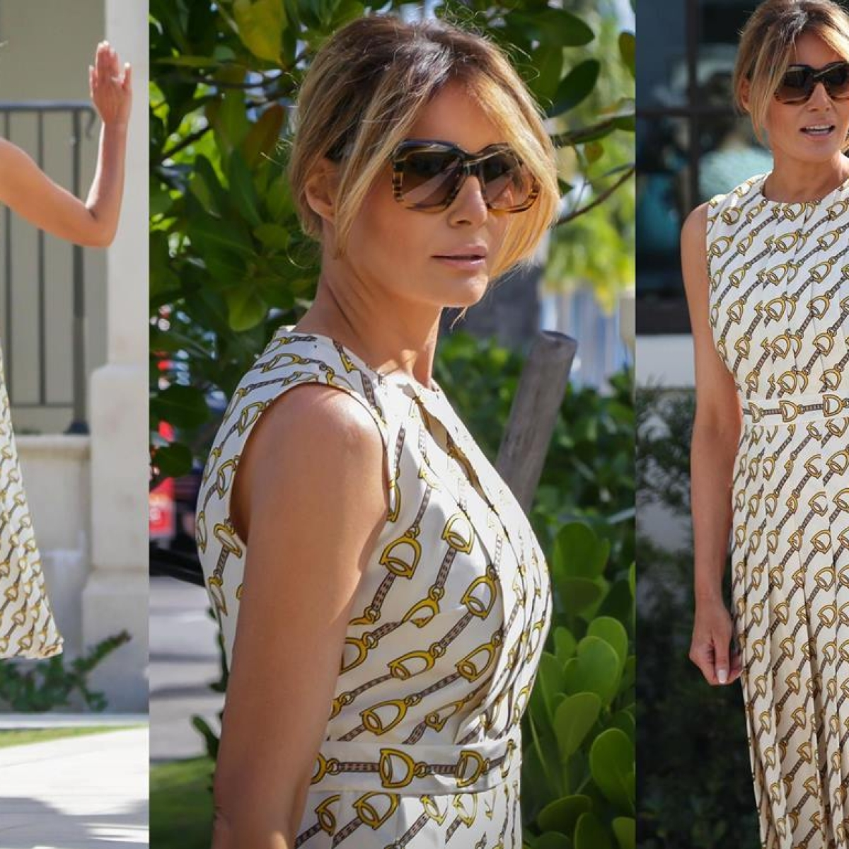 US Elections 2020: Melania Trump wears an ensemble worth Rs 16.5 lakh to cast her vote