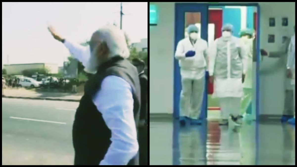 Watch: PM Modi visits Zydus Biotech Park in Ahmedabad to review COVID-19 vaccine work